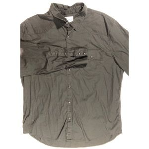Lucky brand pearl snap shirt size XL. Excellent.